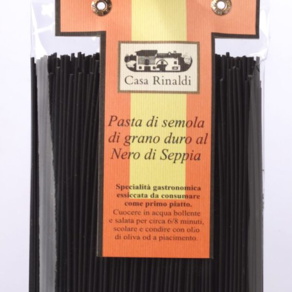 019750021 Spaghetti nero seppia CR 250gr