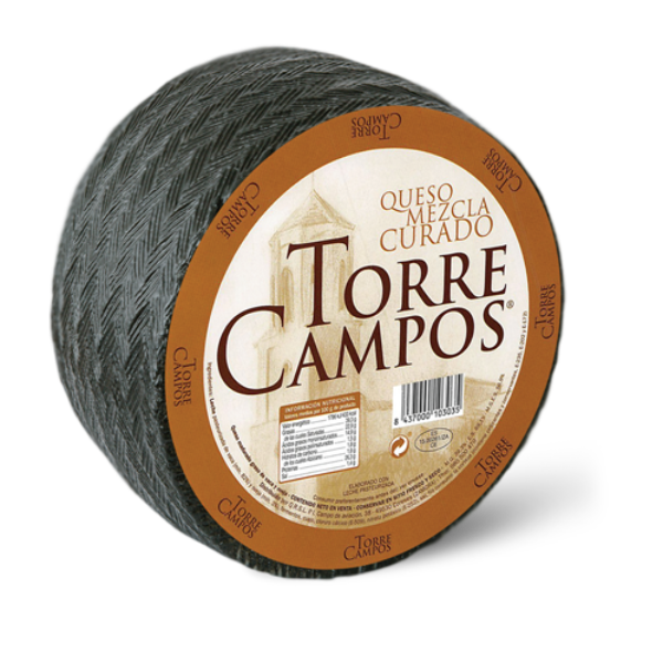 blended cheese ( Cow-sheep) matured pasteurized-torrecampos-01