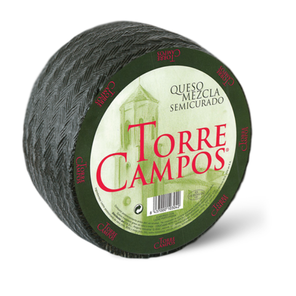 blended cheese ( Cow-sheep) semimatured pasteurized-torrecampos-01 - copia